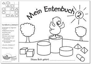 """Mein Entenbuch 2, Das Malbuch zu """"Entenland 2"""" von Janzer,  Monika, Preiss,  Gerhard"""