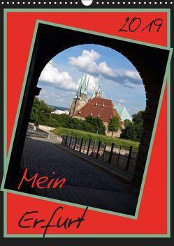 Mein Erfurt (Wandkalender 2019 DIN A3 hoch) von Flori0