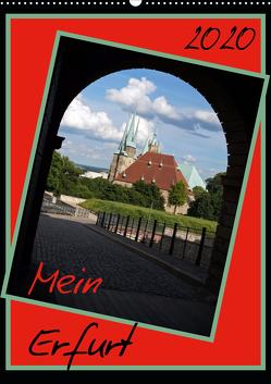 Mein Erfurt (Wandkalender 2020 DIN A2 hoch) von Flori0