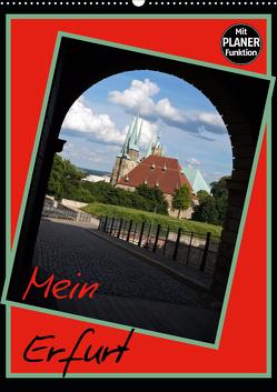 Mein Erfurt (Wandkalender 2021 DIN A2 hoch) von Flori0