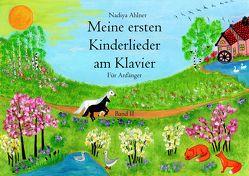 Meine ersten Kinderlieder am Klavier Band 2 von Nadiya,  Ahlner