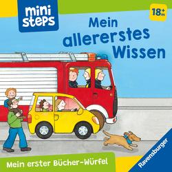 Mein erster Bücher-Würfel: Mein allererstes Wissen (Bücher-Set) von Kohl,  Martina, Milk,  Ina