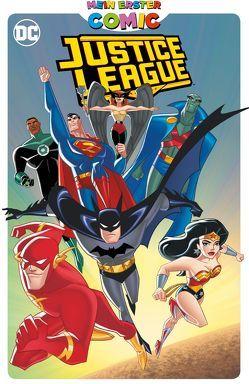 Mein erster Comic: Justice League von Hidalgo,  Carolin, Ku,  Min S., Manning,  Matthew K., Slott,  Dan, Snyder,  John K., Templeton,  Tv