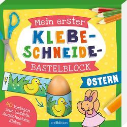 Mein erster Klebe-Schneide-Bastelblock Ostern von Beurenmeister,  Corina
