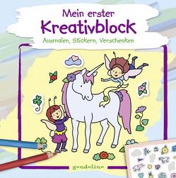 Mein erster Kreativblock (Einhorn) von Labuch,  Kristin