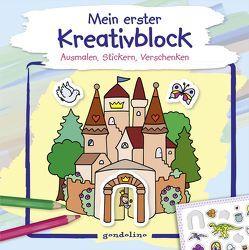 Mein erster Kreativblock (Schloss) von Labuch,  Kristin