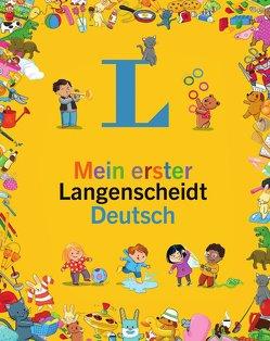 Mein erster Langenscheidt Deutsch – Erstes Wörterbuch für Kinder ab 3 Jahren von Modeste,  Caroline