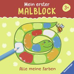 Mein erster Malblock: Alle meine Farben von Greune,  Mascha, Legien,  Sabine