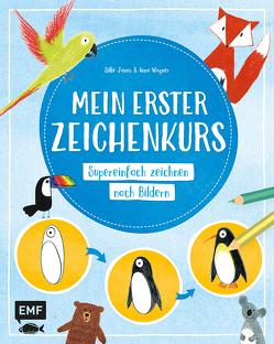 Mein erster Zeichenkurs von Janas,  Silke, Wagner,  Anna