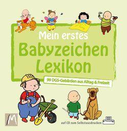 Mein erstes Babyzeichen Lexikon von Malottke,  Jurek, Malottke,  Kelly