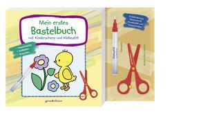 Mein erstes Bastelbuch mit Kinderschere und Klebestift (Küken) – ab 3 Jahre – Frühförderung: Feinmotorik, Kreativität und Konzentration von Labuch,  Kristin