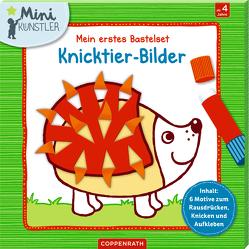 Mein erstes Bastelset: Knicktier-Bilder von Hartmut Bieber