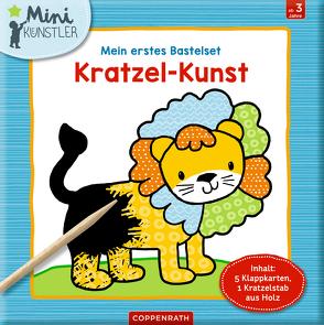Mein erstes Bastelset: Kratzel-Kunst von Bieber,  Hartmut