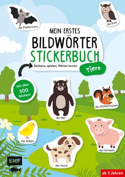 Mein erstes Bildwörter-Stickerbuch – Tiere