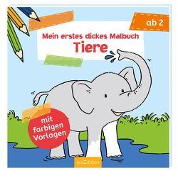 Mein erstes dickes Malbuch – Tiere von Beurenmeister,  Corina