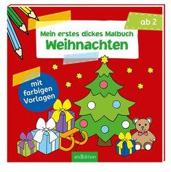 Mein erstes dickes Malbuch Weihnachten von Beurenmeister,  Corina, Bräuer,  Ingrid, Gerlach,  Barbara