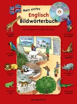 Mein erstes Englisch Bildwörterbuch + CD von Weinhold,  Angela