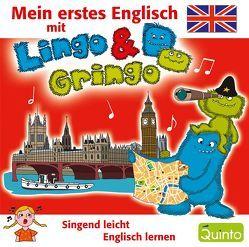 Mein erstes Englisch mit Lingo & Gringo von Scherber,  Evelyn