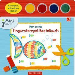 Mein erstes Fingerstempel-Bastelbuch von Bieber,  Hartmut