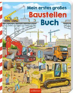 Mein erstes großes Baustellen-Buch von Böwer,  Niklas