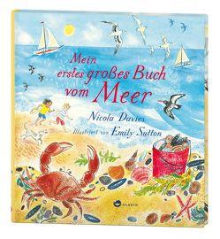 Mein erstes großes Buch vom Meer von Davies,  Nicola, Naumann,  Ebi, Sutton,  Emily