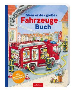 Mein erstes großes Fahrzeuge-Buch von Seelig,  Stefan