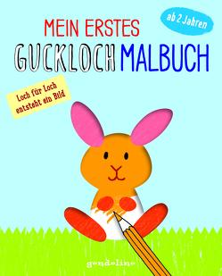 Mein erstes Guckloch-Malbuch ab 2 Jahre (Häschen) von Pautner,  Norbert
