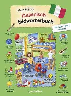 Mein erstes Italienisch Bildwörterbuch von Krause,  Joachim