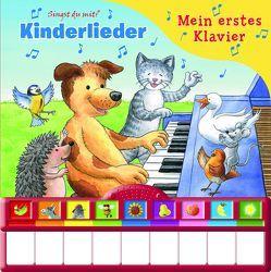Kinderlieder, Mein erstes Klavier: Kinderbuch mit Klaviertastatur