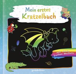 Mein erstes Kratzelbuch (Drache) von Labuch,  Kristin