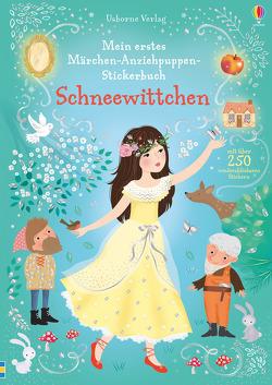 Mein erstes Märchen-Anziehpuppen-Stickerbuch: Schneewittchen von Miller,  Antonia, Watt,  Fiona