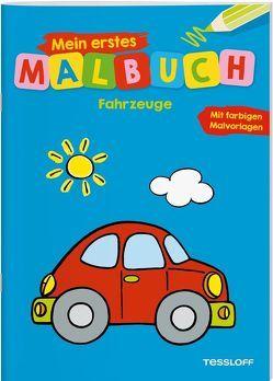 Mein erstes Malbuch Fahrzeuge von Turnhofer,  Kersti