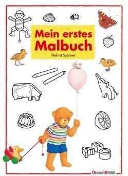 Mein erstes Malbuch von Spanner,  Helmut