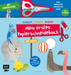 Mein erstes Papierschneidebuch – Im Zoo – Mit Kinderschere