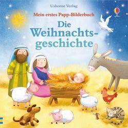 Mein erstes Papp-Bilderbuch: Die Weihnachtsgeschichte von Jatkowska,  Ag, Sims,  Lesley