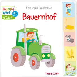 Mein erstes Registerbuch. Bauernhof von Tessloff Verlag, Thau,  Christine