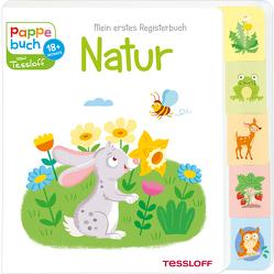 Mein erstes Registerbuch. Natur von Tessloff Verlag, Thau,  Christine