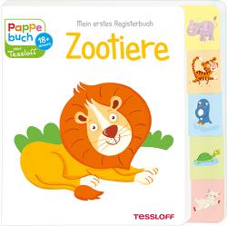 Mein erstes Registerbuch. Zootiere von Tessloff Verlag, Thau,  Christine