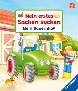 Mein erstes Sachen suchen: Mein Bauernhof von Grimm,  Sandra, Gruber,  Denitza