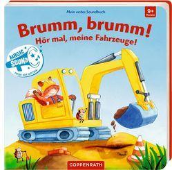 Mein erstes Soundbuch: Brumm, brumm! Hör mal, meine Fahrzeuge! von Bogade,  Maria