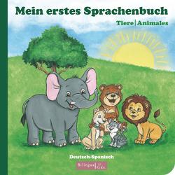 Kinderbuch Spanisch – Deutsch / Mein erstes Sprachenbuch: Tiere-Animales von Michelle,  Akkaya