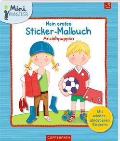 Mein erstes Sticker-Malbuch von Messing,  Stefanie