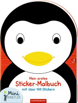 Mein erstes Sticker-Malbuch: Pinguin von Ballon Media nv/sa