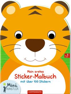 Mein erstes Sticker-Malbuch: Tiger von Ballon Media nv/sa