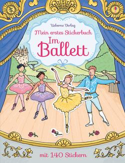 Mein erstes Stickerbuch: Im Ballett von Finn,  Rebecca, Young,  Caroline