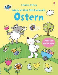 Mein erstes Stickerbuch: Ostern von Greenwell,  Jessica, Lamb,  Stacey