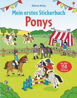 Mein erstes Stickerbuch: Ponys von Finn,  Rebecca, Patchett,  Fiona