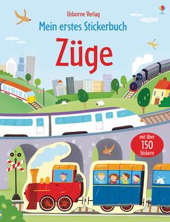 Mein erstes Stickerbuch: Züge von Sanmartino,  Annalisa, Taplin,  Sam, Torelli,  Giulia