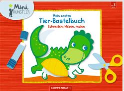 Mein erstes Tier-Bastelbuch von Bieber,  Hartmut