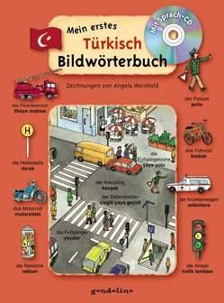 Mein erstes Türkisch Bildwörterbuch + CD von Weinhold,  Angela